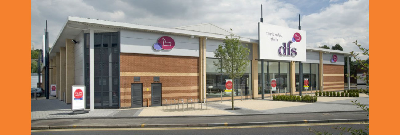 photo of dfs furniture store, Lane Walker Chartered Surveyors and Commercial Property Agents