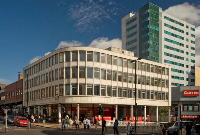 Midcity House offices to let in Sheffield, by Lane Walker